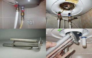 Почему водонагреватель бьет током