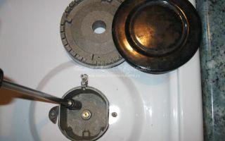 Замена жиклеров газовых плит своими руками