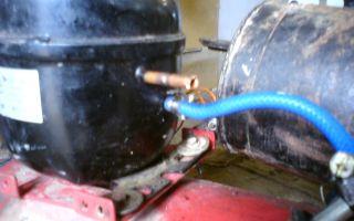 Как сделать компрессор своими руками из автомобильного насоса, холодильника, бензопилы