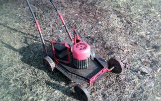 Как сделать электрическую газонокосилку своими руками из стиральной машины или болгарки