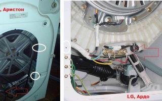 Замена тэна в стиральной машине индезит, аристон, бош, самсунг, элджи