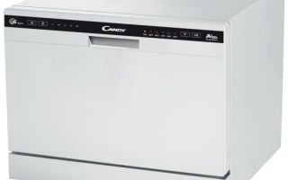 Компактная настольная посудомоечная машина