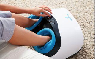 Электрический массажер для ног: лимфодренаж ступней в домашних условиях