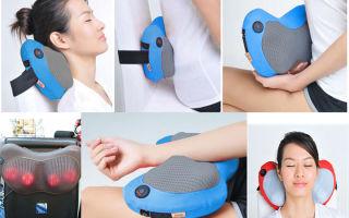 Электрический массажер для спины и шеи: принцип действия, разновидности, показания к применению