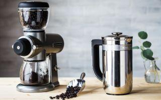 Ручная и электрическая жерновая кофемолка для дома