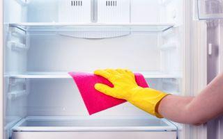 Чем помыть новый холодильник перед первым использованием?