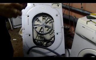 Разборка стиральной машины индезит своими руками