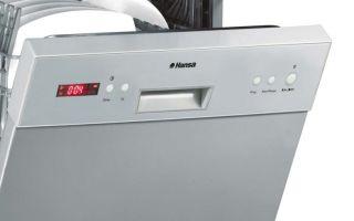 Посудомоечная машина hansa: модельный ряд, мнение пользователей