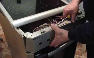 Ремонт и разборка электроплиты своими руками