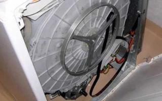 Почему слетает ремень с барабана стиральной машины?