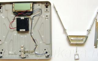 Ремонт напольных электронных и механических весов своими руками