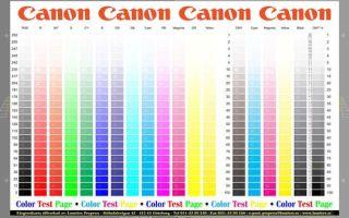 Калибровка принтера при помощи встроенных программ, сканера и profilerpro
