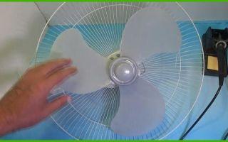 Ремонт и разборка напольного или настольного вентилятора своими руками
