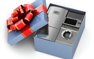 Какую бытовую технику для чистоты и порядка можно подарить на новый год?