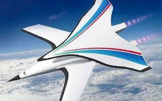Начались разработки сверхскоростного гиперзвукового самолета i plane