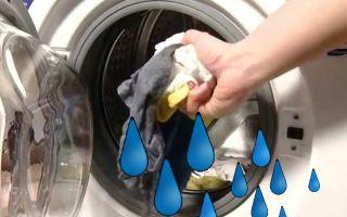 Почему стиральная машина не отжимает белье: причины