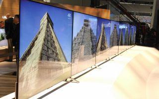 Самый большой, тонкий и дорогой телевизор в мире