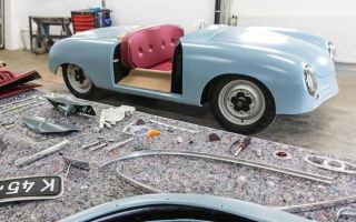 Porshe воссоздали свой первый автомобиль, выпущенный в 1948 году