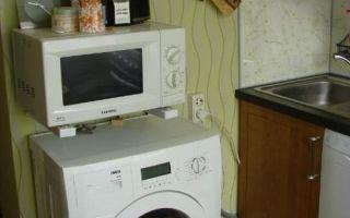Можно ли ставить микроволновку на посудомоечную машину?