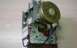 Программатор для стиральных машин: виды, конструкция, замена