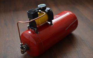 Ресивер в компрессоре: назначение, выбор, изготовление своими руками