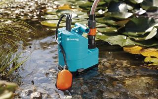 Дренажный насос для откачки воды: устройство, виды, рейтинг производителей, установка